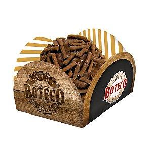 Porta Forminha para Doces Festa Boteco - 40 unidades - Festcolor - Rizzo Festas