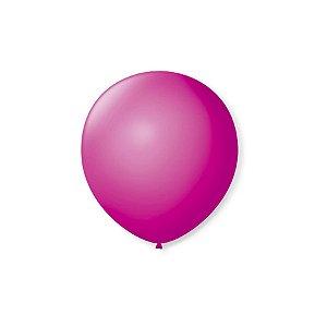 Balão de Festa Latex 5'' 13cm - Ameixa - 50 unidades - São Roque - Rizzo Festas