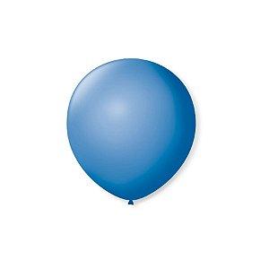 Balão de Festa Latex 5'' 13cm - Azul Turquesa - 50 unidades - São Roque - Rizzo Festas