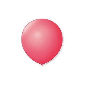 Balão de Festa Latex 5'' 13cm - Rosa Pink - 50 unidades - São Roque - Rizzo Festas