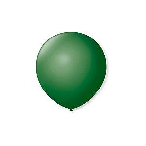 Balão de Festa Latex 5'' 13cm - Verde Folha - 50 unidades - São Roque - Rizzo Festas