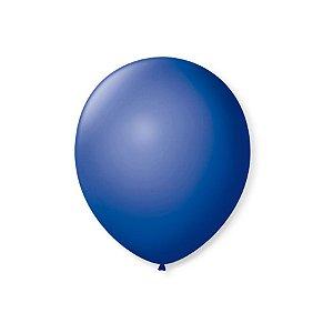 Balão de Festa Latex 7'' 18cm - Azul Cobalto - 50 unidades - São Roque - Rizzo Festas