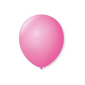 Balão de Festa Latex 7'' 18cm - Rosa Tutti Frutti - 50 unidades - São Roque - Rizzo Festas