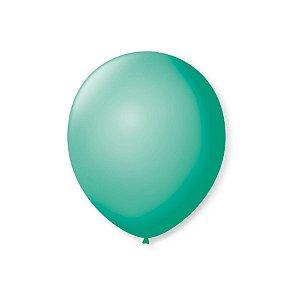 Balão de Festa Latex 7'' 18cm - Tiffany - 50 unidades - São Roque - Rizzo Festas