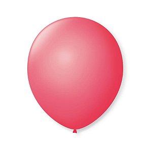 Balão de Festa Latex 9'' 23cm - Rosa Pink - 50 unidades - São Roque - Rizzo Festas