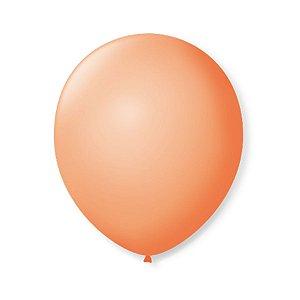 Balão de Festa Latex 9'' 23cm - Pele - 50 unidades - São Roque - Rizzo Festas