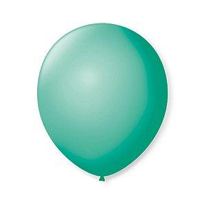 Balão de Festa Latex 9'' 23cm - Tiffany - 50 unidades - São Roque - Rizzo Festas