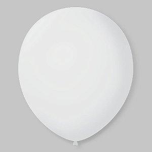 Balão de Festa Latex 11'' 28cm - Transparente - 50 unidades - São Roque - Rizzo Festas