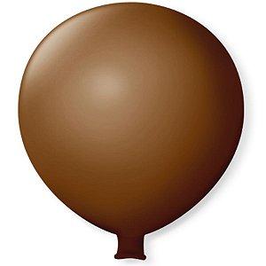 Balão Gigante em Latex 25'' 64cm - Café Brasil - São Roque - Rizzo Festas