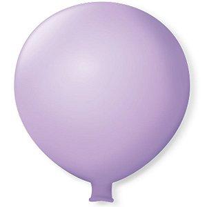 Balão Gigante em Latex 25'' 64cm - Lilás Baby - São Roque - Rizzo Festas