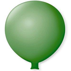 Balão Gigante em Latex 25'' 64cm - Verde Folha - São Roque - Rizzo Festas