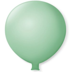 Balão Gigante em Latex 25'' 64cm - Verde Lima - São Roque - Rizzo Festas