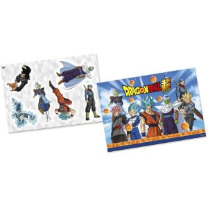 Kit Decorativo Festa Dragon Ball - 6 Itens - Festcolor - Rizzo Festas