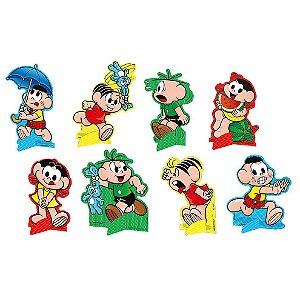 Decoração de Mesa Festa Turma da Mônica - 8 unidades - Festcolor - Rizzo Festas