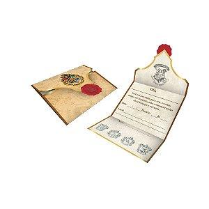 Convite Festa Harry Potter - 8 unidades - Festcolor - Rizzo Festas