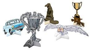 Decoração de Mesa Festa Harry Potter - 8 unidades - Festcolor - Rizzo Festas