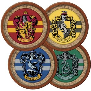 Prato Festa Harry Potter 18Cm - 8 unidades - Festcolor - Rizzo Festas