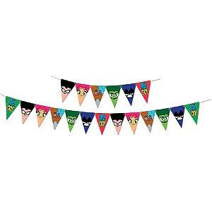 Faixa Decorativa Festa Jovens Titãs - Festcolor - Rizzo Festas