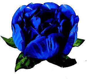 Forminha para Doces Finos - Bela Azul Royal 40 unidades - Decora Doces - Rizzo Festas