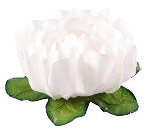Forminha para Doces Finos - Rosa Maior Branca 40 unidades - Decora Doces - Rizzo Festas