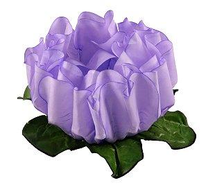 Forminha para Doces Finos - Rosa Maior Lilás 40 unidades - Decora Doces - Rizzo Festas
