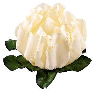 Forminha para Doces Finos - Rosa Maior Marfim 40 unidades - Decora Doces - Rizzo Festas