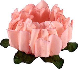 Forminha para Doces Finos - Rosa Maior Pêssego 40 unidades - Decora Doces - Rizzo Festas