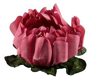 Forminha para Doces Finos - Rosa Maior Rosa Seco (2) 40 unidades - Decora Doces - Rizzo Festas