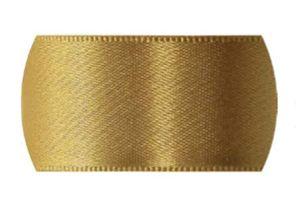 Fita de Cetim Progresso 70mm nº22 - 10m Cor 228 Ouro - 01 unidade - Rizzo Embalagens