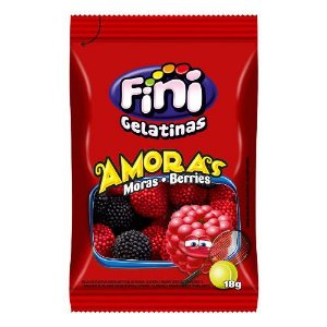 Amoras Pocket 12 unidades de 18g - Fini - Rizzo Embalagens