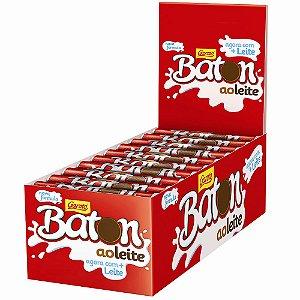 Batom Ao Leite 16g Caixa com 30 unidades - Garoto - Rizzo Embalagens