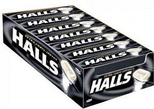 Halls Extra Forte 34g Caixa com 21 unidades - Rizzo Embalagens