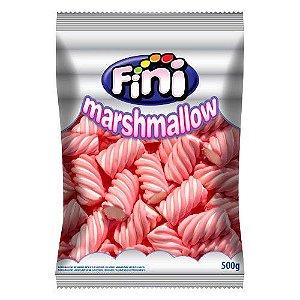 Marshmallow Torcao Max Morango 500g - Fini - Rizzo Embalagens