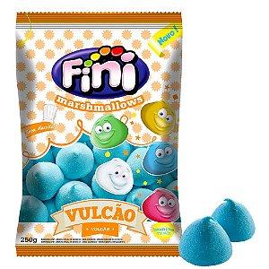 Marshmallow Vulcao Azul 250g - Fini - Rizzo Embalagens