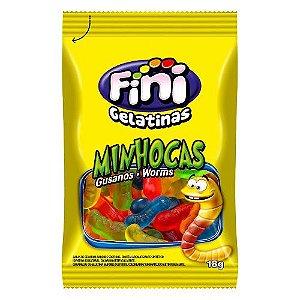 Minhocas Pocket 12 unidades de 18g - Fini - Rizzo Embalagens