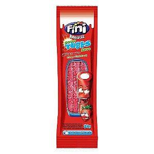 Tubes Morango Citrico FINI 12 pacotes com 12g cada - Fini - Rizzo Embalagens