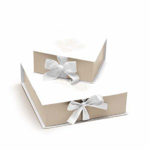 Caixa Rigida Convite Padrinhos P - 01 unidade - Cromus Casamento Classico - Rizzo Festas