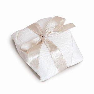 Kit Bem Casado Branco_Marfim - 20 unidades - Cromus Casamento Classico - Rizzo Festas