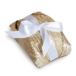 Kit Bem Casado Ouro_Branco - 20 unidades - Cromus Casamento Classico - Rizzo Festas