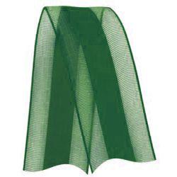 Fita de Voal com Cetim VCE005 22mm Cor 217 Verde Bandeira - 10 metros - Progresso - Rizzo Embalagens