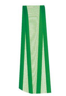 Fita de Voal com Cetim ZC003 15mm Cor 217 Verde Bandeira - 10 metros - Progresso - Rizzo Embalagens
