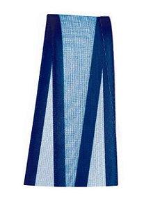 Fita de Voal com Cetim ZC005 22mm Cor 215 Azul Marinho - 10 metros - Progresso - Rizzo Embalagens
