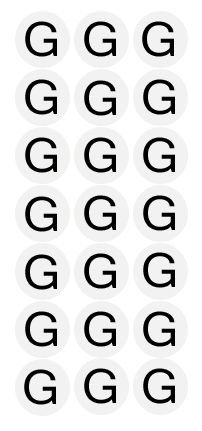 Etiqueta Adesiva Tamanho G - 500 unidades - Massai - Rizzo Embalagens
