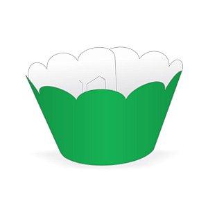 Mini Wrapper Mini Cupcake - Verde Bandeira - 3cm x 14,5cm - 12 unidades - Nc Toys - Rizzo Embalagens
