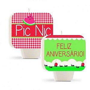 Vela Dupla Face Festa Pic Nic - Cromus - Rizzo Festas