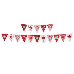 Faixa Feliz Aniversario Festa Pic Nic - Cromus - Rizzo Festas