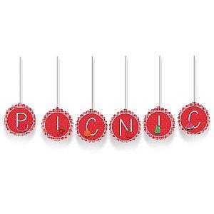 Faixa Decorativa PIC NIC Festa Pic Nic - Cromus - Rizzo Festas