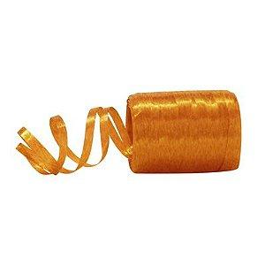 Fitilho Plástico Laranja - 50 metros - Rizzo Embalagens