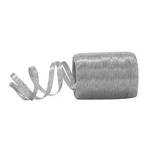 Fitilho Plástico Prata - 50 metros - Rizzo Embalagens