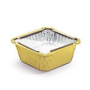 Marmitinha Amarelo Tampa de Acetato P 5,5x5,5x3cm - 12 unidades - Cromus - Rizzo Embalagens
